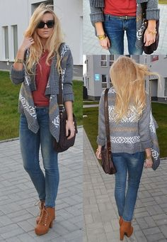 C Sweater, Bershka Blouse, Guess Pants, Kazar Bag, Guess Watch, Świat Butów24 Shoes