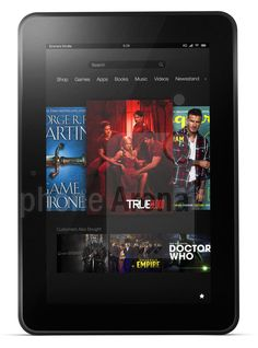 Amazon Kindle Fire HD 8.9 4G LTE Pictures