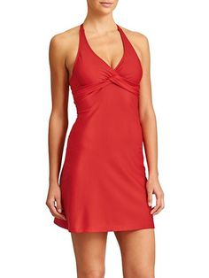 I love Athletes swim dresses! I have this one and it is one of my favorites for the summer!