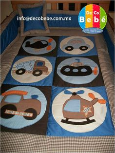 edredon niño azul - Buscar con Google Patchwork Baby, Patchwork Patterns, Quilt Patterns, Baby Boy Quilts, Baby Boy Blankets, My Sewing Room, Baby Sewing, Patch Quilt, Applique Quilts
