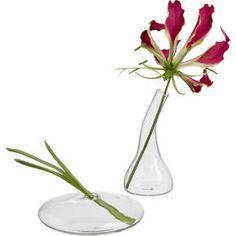 mini bud vases in vases | CB2
