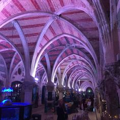 No filter required for this amazing venue for a Christmas Fair....