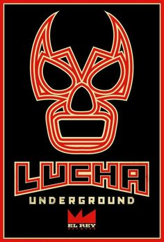 Lucha Underground on El Rey network-Logo Front Cover