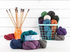 Cloudborn Wool Worsted Twist yarn