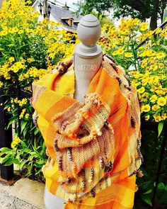 Trendy Fashion Style Women's Clothing Online Shopping - SHOP NOW !         Bon dimanche! Have a wonderful Sunday!  #fall #fallfashion #shawl #handmade #handwoven #bamboo #wool #yellow #orange #original #originalclothes #originalclothing #notthesame #wearableart #westislandmontreal #montreal #pointeclaire #pointeclairevillage #artist #localartists #local #mitziad #wbymitziad #roxanastoleru…
