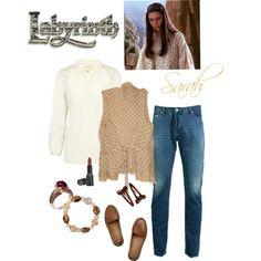 """Sarah (Labyrinth)"" by chrissykp on Polyvore"