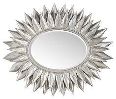 One Kings Lane - The Mirror Market - Kelsey Sunburst Mirror