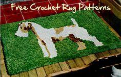 Free #Crochet Rug Patterns