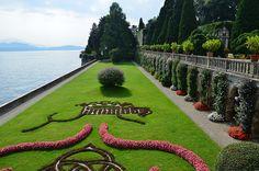gardening: manicured: Borromeo Gardens, Isola Bella, Piemonte, Italy