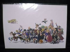 Fairy Tail Duplicate Original Drawing 25 x 36cm Shonen Magazine Anime F/S
