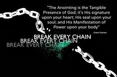 And the Yokes are Destroyed because of the Anointing...ISAIAH 10:27