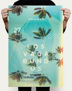 Sun & Palms Flyer – This flyer poster template can be used for a summer party, outdoor bar, beach party, bar and dj event, tropical island theme party, or just for regular summer festivals. It is a indie vintage theme with modern typography and a warm and…