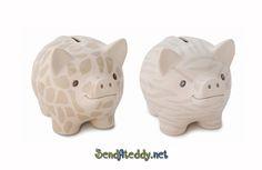 Giraffe Pattern, Piggy Bank, Gifts, Presents, Money Bank, Favors, Gift