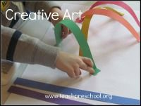 This site is amazing. It can be hard to find visual art activities for preschool that are process driven, not product driven. This has so many great ideas!