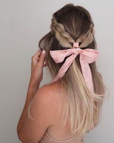 Half Up Half Down Hair, Half Updo, Hair Brained, Up Styles, Hair Inspo, Updos, Hairstyle, Romantic, Hair Ideas