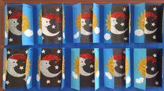 Gece gündüz etkinliği Tuba' nın sınıfı Planet Mobile, Autumn Crafts, Borders And Frames, Sistema Solar, Science Activities, Stars And Moon, Kindergarten, Preschool, Arts And Crafts