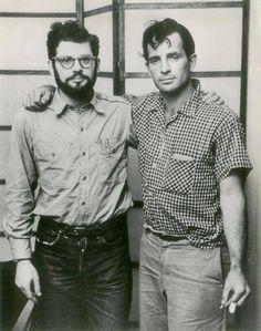 buffalo-divine-eden-no7:  Allen Ginsberg and Jack Kerouac