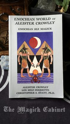 Enochian Sex Magick, Enochian World of Aleister Crowley, Esoteric Religion, Sexuality, Occult, Golden Dawn, Western Occult, Book, Spiritual by TheMagickCabinet on Etsy