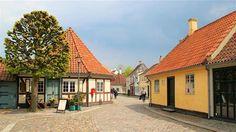 Day-Trip Transportation to Andersen Museum in Odense from Copenhagen Copenhagen Travel, Odense, Day Trips, Denmark, Transportation, Cabin, Mansions, House Styles, Hans Christian