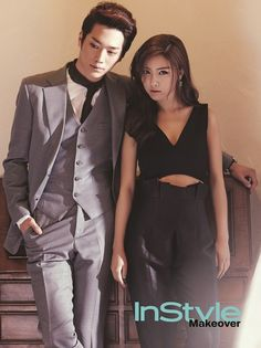 Kim So Eun and Seo Kang Jun look like a sexy real-life couple for 'InStyle' Cute Couple Poses, Cute Couples, Korean Actresses, Korean Actors, Seo Kang Jun, Kim So Eun, O Drama, Cute Korean Girl, Fashion Couple