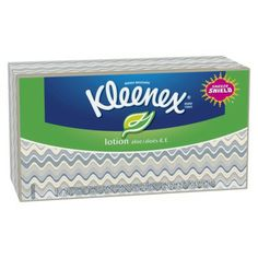 I'm learning all about Kleenex Tissue with Lotion Aloe
