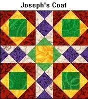 Site explaining Bible Quilts. This one is Joseph's Coat. Patternsfronhistory.com
