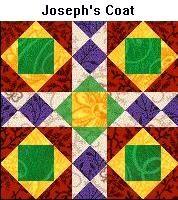 Site explaining Bible Quilts. This one is Joseph's Coat. Patternsfronhistory.com