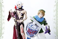 Cia and Link by japanese cosplayer MIE | #Zelda #Hyrule_Warriors