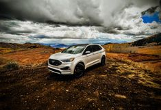 Ask yourself this simple question: Is this the golden age of performance automobiles? Fuel prices remain relatively reasonable,. Ford Edge Suv, First Drive, 2019 Ford, Saints, Vehicles, Awesome, Cars