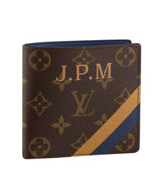 A Mon Monogrammed Marco wallet in Monogram canvas is on our #LVWishList this holiday season.