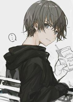 Resultado de imagem para cute anime boy fourteen years old Anime Oc, Dark Anime, Chica Anime Manga, Kawaii Anime, Manga Boy, Cosplay Anime, Cool Anime Guys, Hot Anime Boy, Anime Boy Zeichnung