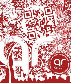 custom qr codes – Good vs Better: Design Thinking, QR Design, AR experiments Barcode Art, Land Art, Design Thinking, Qr Codes, Art Blog, Book Design, Really Cool Stuff, Art Projects, Typography