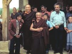 HH with Gendun Rinpoche.