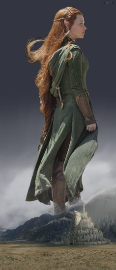 ...  then Bilbo realised that maybe he shouldn't lend his ring to Tauriel. Description from zitukx.deviantart.com. I searched for this on bing.com/images
