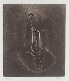 Naum Gabo '[no title]', 1950 The Work of Naum Gabo © Nina & Graham Williams/Tate, London 2014
