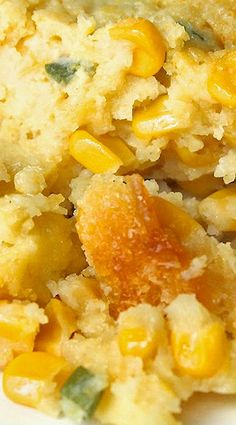 This corn side dish tastes like a cross between cornbread and corn puddingThis is set it and forget it recipe, made in a slow cooker. Crock Pot Slow Cooker, Crock Pot Cooking, Slow Cooker Recipes, Crockpot Recipes, Cooking Recipes, Corn Recipes, Side Dish Recipes, Great Recipes, Recipies