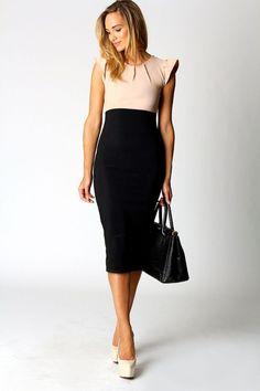 Artistic Beige Work Dresses
