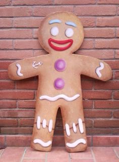 Zenzy, dipinto su compensato sagomato #zenzy #paintonwood  #ominopandizenzero  #biscotto #biscottino