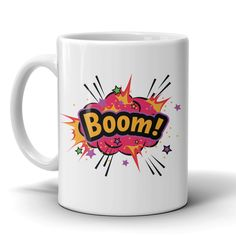 BOOM! Red Cloud Coffee Mug