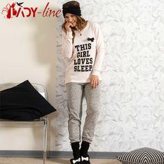 Poze Pijamale Dama Snelly L'Originale, Bumbac 'This Girl Loves Sleep' Pink Pajamas, Sleep, Graphic Sweatshirt, Love, Sweatshirts, Sweaters, Fashion, Pjs, Amor