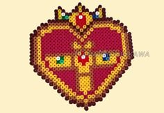 Sailor Moon perler beads by HanaMidorikawa