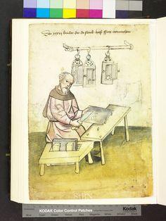 Horn worker, 1425 Die Hausbücher der Nürnberger Zwölfbrüderstiftungen
