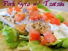 Eating Bariatric: Pork Gyro w/Tzatziki