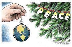 Christmas Peace, Dave Granlund, Politicalcartoons.com