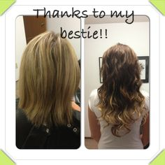 Then to this Besties, Long Hair Styles, Beauty, Beleza, Long Hair Hairdos, Cosmetology, Long Hairstyles, Long Hair Cuts, Long Hair