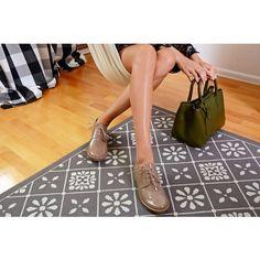 Pantofi Oxford din piele naturala maro Idalia