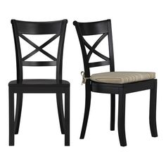 C&B Vintner Black Side Chair (to go w/Avalon table) $139