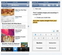 Evernote: #Organizational App to help you remember everything across all your devices.
