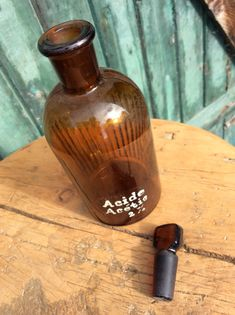 Bouteile brune de laboratoire Acide acétic 2% - 15$