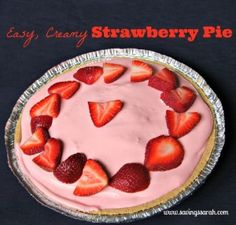 How about an easy, creamy strawberry pie with simple ingredients that tastes delicious? One that will go easy on your budget and is simple to prepare. You have come to the right place.